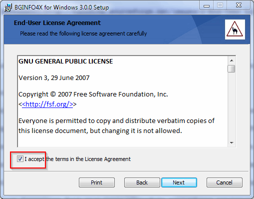 BGINFO4X - BGINFO for X and for Windows! / Wiki / Installing